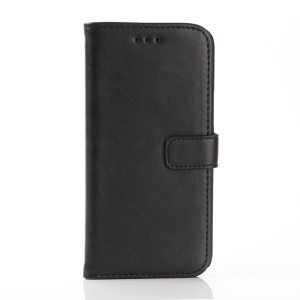 Crazy Horse Leather Wallet Case for HTC 10/Lifestyle - Black