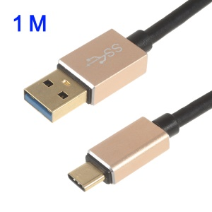 ONTEN 1m Type-c to USB 3.0 Speedy Data Charging Cable - Black