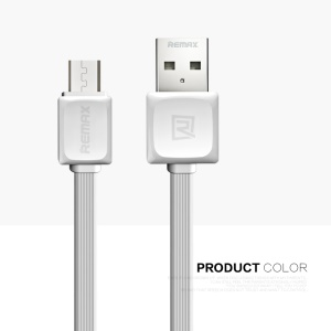 REMAX Fast Data Charging Cable Micro USB Cord for Samsung Sony Huawei - White