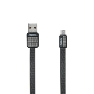 REMAX Micro USB Data Sync Charging Cable for Samsung Sony Huawei - Black