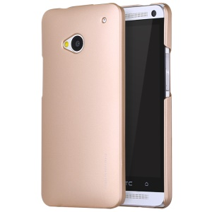 X-LEVEL Sense Series Hard Protective Case for HTC One M7 - Gold
