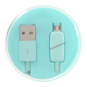 Smart LED Micro USB Data Charging Cord for Android Samsung Sony Huawei - Blue