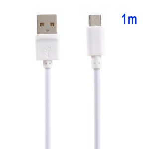 VORSON Charging Data Micro USB Cable 1m for Samsung Sony Huawei - White