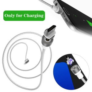 WSKEN Round Magnetic Micro USB Charging Cable 1M (Only for Charging)