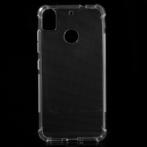 Transparent Glossy TPU Phone Cover Case for HTC Desire 10 Pro