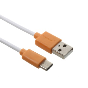PINZUN 2A Type-C USB Data Sync Charging Cable for Samsung HTC LG - Orange