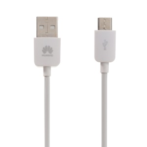 OEM HUAWEI Micro USB Data Sync Charge Cable 1A 1m/3.3ft for Huawei P9 Lite/Mate S Etc - White
