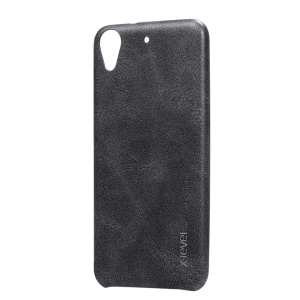 X-LEVEL Vintage Phone Casing for HTC Desire 626 / 626s (PU Leather + PC) - Black
