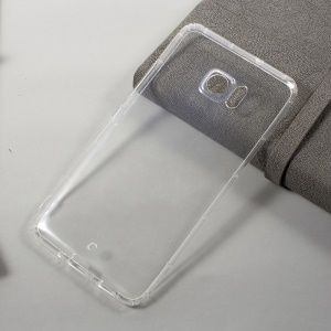 Clear TPU Drop-resistant Mobile Phone Case for HTC Ocean Note