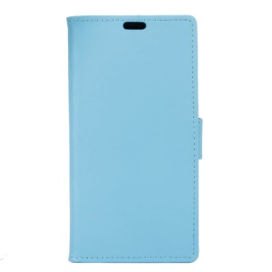 Leather Stand Case with Card Slots for HTC U Play - Blue