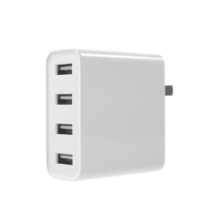 Mi USB Charger 2A Fast Charge 35W High Power 4 Ports USB Wall Charger for Xiaomi Mi Note 3 etc. - US Plug