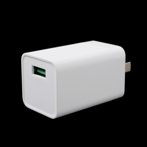 Oppo VOOC AK779 5V 4A Flash Charger Wall Adapter for Oppo R11 / R11Plus - US Plug / White