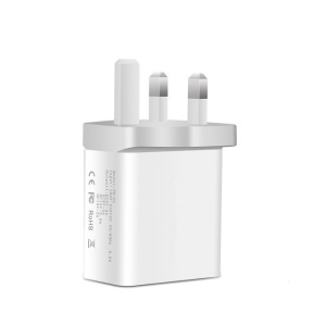 30W PD USB Charger Fast Charger Type C Power Charger for iPhone 8/8 Plus/X etc. - UK Plug