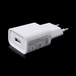 OEM XIAOMI MDY-08-EI Travel Wall Charger Adapter - EU Plug / White