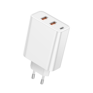 BASEUS Speed PPS Three Output Quick Charge PC3.0/QC3.0 60W (C+U+U) - White/EU Plug