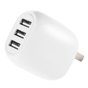 JOYROOM M301 3 USB 3.1A Smart Wall Charger US Plug for iPhone iPad Samsung - White