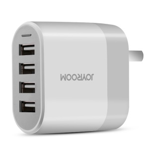 JOYROOM M405 4 USB Ports 4.5A Wall Charger for iPhone Samsung Huawei Etc.