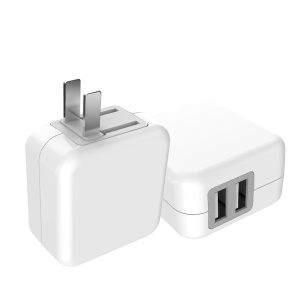 JOYROOM 2.1A Dual USB Wall Charger L207 for iPhone iPad Samsung - US Plug