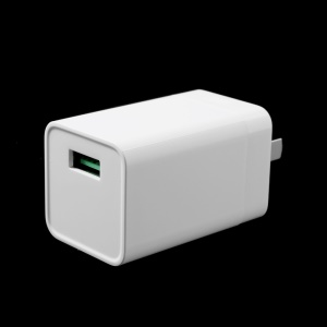 Oppo VOOC AK779 5V 4A Flash Charger Mini Wall Adapter for Oppo R9 / R7 - US Plug / White