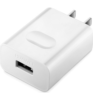 OEM HUAWEI 5V 2A USB Travel Wall Charger Adapter for iPhone iPad Samsung - White / US Plug