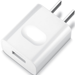 HUAWEI OEM 5V 1A USB Wall Travel Charger Adapter for iPhone iPad Samsung - White / US Plug