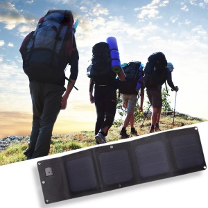 Foldable 13W Solar Charging Panel for iPhone Samsung Smartphones (CE, RoHS, FCC)