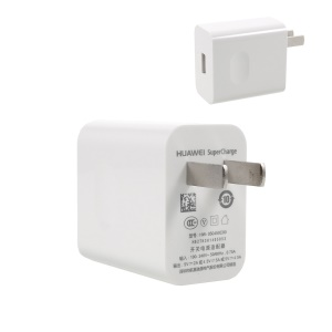 OEM HUAWEI SuperCharge Rapid USB Wall Charger for Huawei Mate 9/Mate 9 Pro Etc - White / US Plug