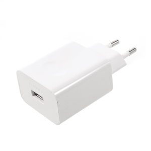 OEM HUAWEI SuperCharge USB Wall Charger Adapter for Huawei Mate 9/Mate 9 Pro Etc - White / EU Plug