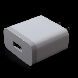 OEM XIAOMI Single USB Port Travel Wall Charger Adapter (CCC) for Xiaomi iPhone Samsung LG etc - White/US Plug