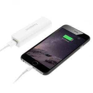 2600mAh Mini External Power Bank Battery Charger for iPhone Samsung LG HTC - Grey