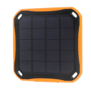 SUNGZU SC002 5600mAh Solar Panel Charger Warterproof Shockproof Dustproof for iPhone iPad Samsung