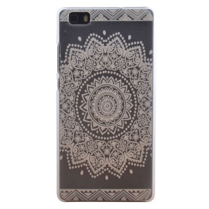 PC Phone Cover Case for Huawei Ascend P8 Lite - Mandala Flower