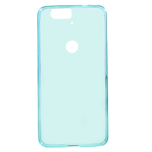 Ultra-thin Soft TPU Phone Case for Huawei Nexus 6P with Non-slip Inner - Baby Blue