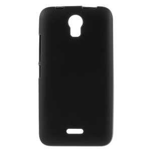 Double-sided Matte TPU Case for Huawei Y336 - Black