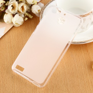 Anti-fingerprint Matte TPU Cover Accessories for Huawei Enjoy 5s / GR3 - White