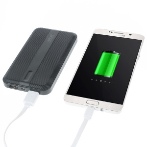 LEYOU LE-350 10000mAh External Power Bank Charger for iPhone iPod Samsung HTC LG Pokemon Game - Black