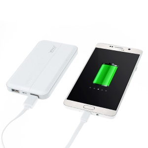 LEYOU LE-350 10000mAh External Power Bank Charger for iPhone iPod Samsung Pokemon Game Sony - White