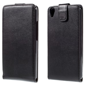 Vertical Flip Protective Leather Case Cover for Huawei Honor 4A / Y6