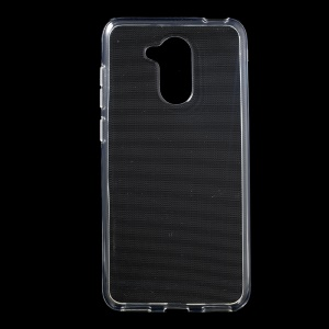 Clear TPU Mobile Phone Case with Non-slip Inner for Huawei Honor 6C Pro / V9 Play - Transparent