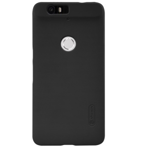 NILLKIN Super Frosted Shield Hard Plastic Case for Huawei Nexus 6P with Screen Protector - Black