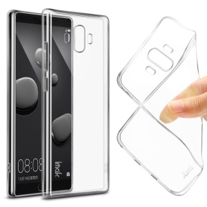 IMAK Stealth Clear TPU Soft Case with Screen Protector Film for Huawei Mate 10 - Transparent