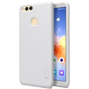 NILLKIN Super Frosted Shield Plastic Hard Back Case for Huawei Honor 7X - White