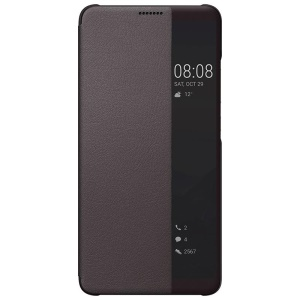 HUAWEI Finestra Finestra Laterale Per Smart Case Huawei Mate 10 Pro - Marrone