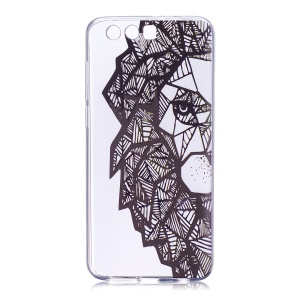 Pattern Printing Flexible TPU Phone Protective Casing for Huawei Honor 9 - Animal Pattern