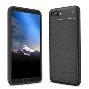 IVSO Gentry Series Leather Coated TPU Mobile Case for Huawei nova 2s - Black
