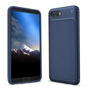 IVSO Gentry Series for Huawei nova 2s Leather Coated TPU Case Accessory - Dark Blue