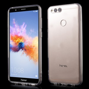 For Huawei Honor 7X Crystal Clear Acrylic+ TPU Combo Back Case - Transparent
