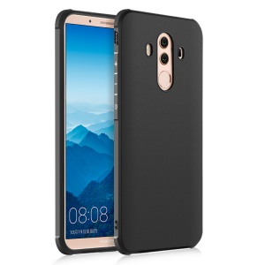 Wrapped Edges Drop-proof TPU Cover Casing for Huawei Mate 10 Pro - Black