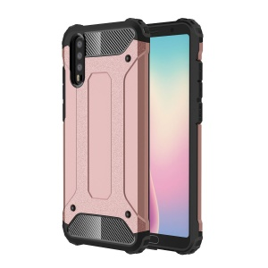 Armor Guard Plastic + TPU Combo Case for Huawei P20 - Rose Gold
