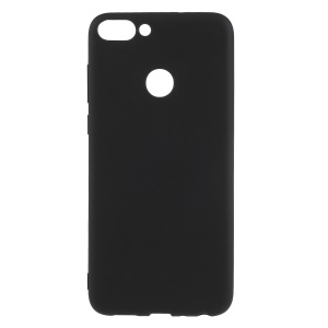 Matte Anti-scratch TPU Phone Case for Huawei P Smart/Enjoy 7S - Black
